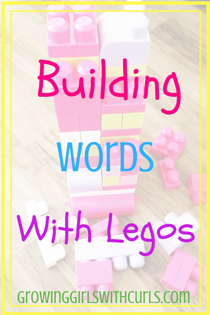 Building words with legos