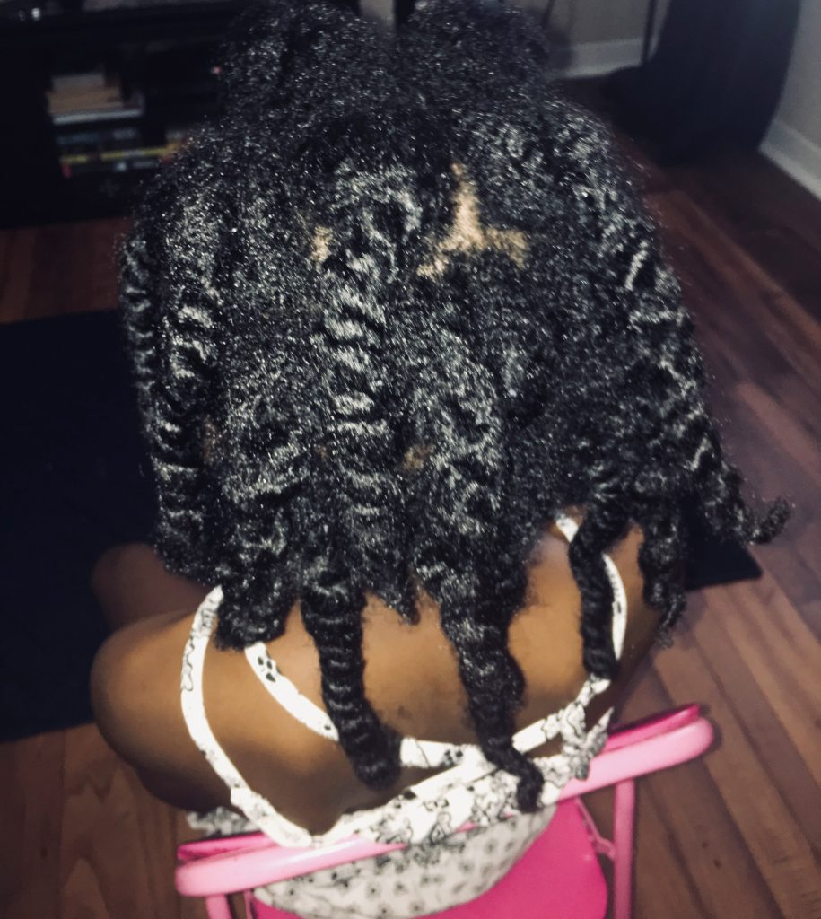 children's twist out