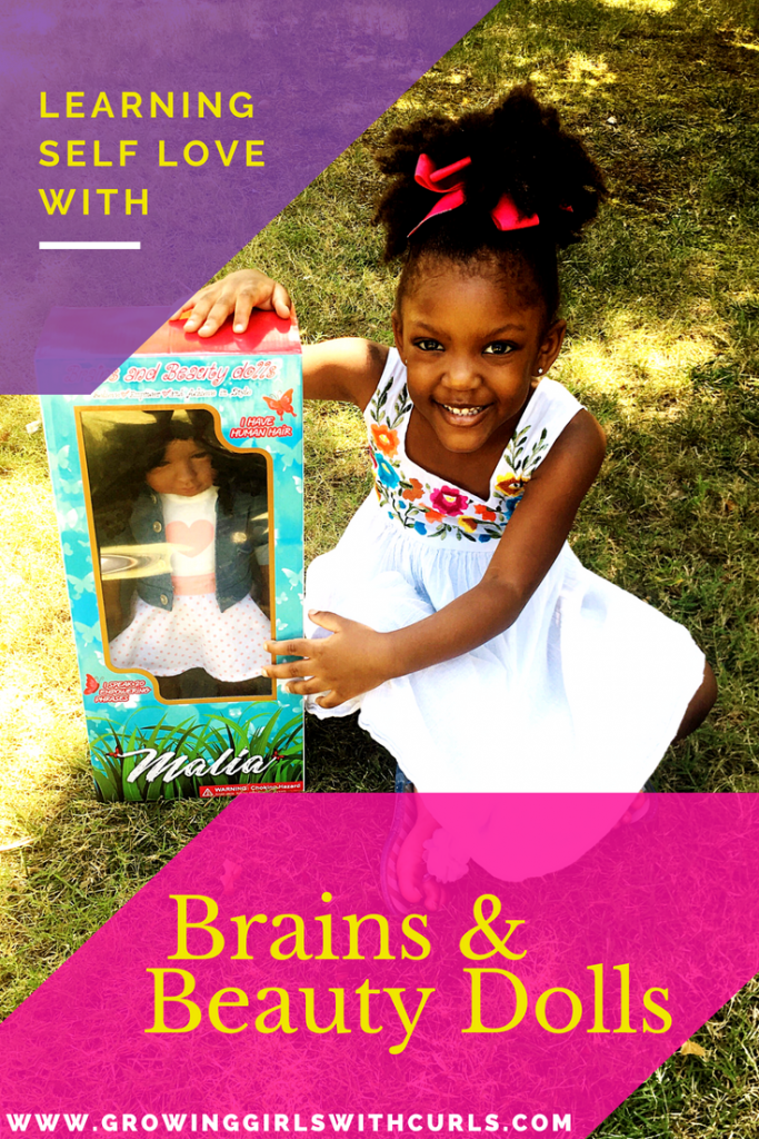 Learning Self love with brains and beauty dolls