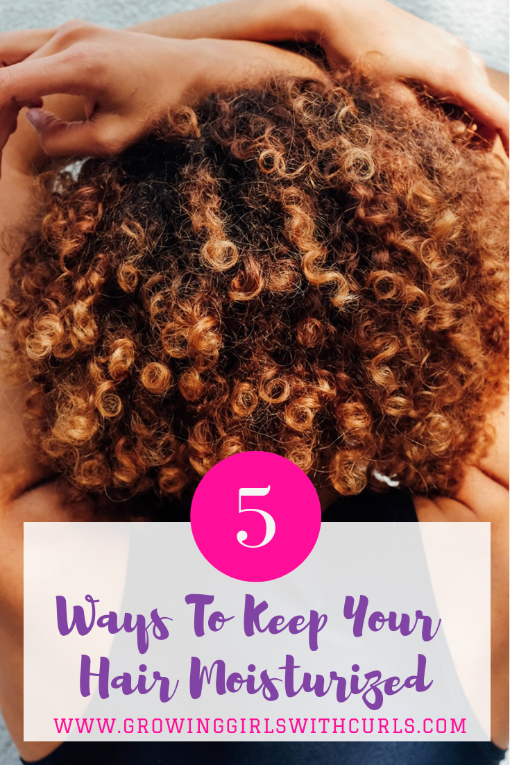 Ways to keep your natural hair moisturized
