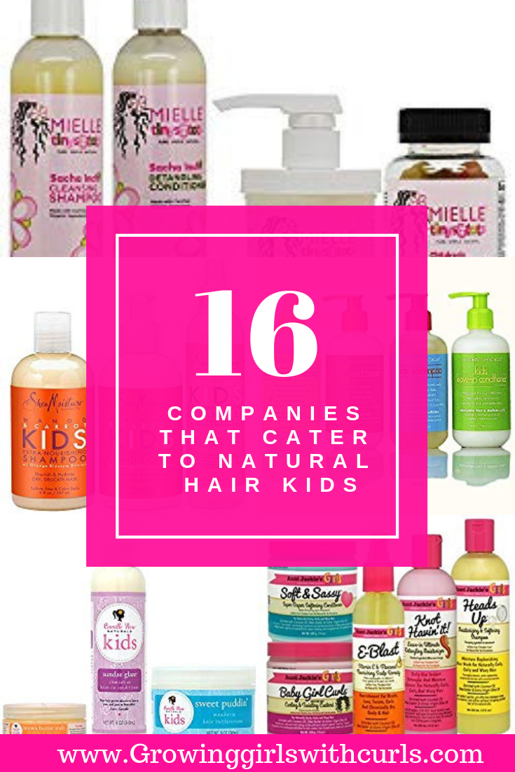 16 Companies that cater to natural hair kids