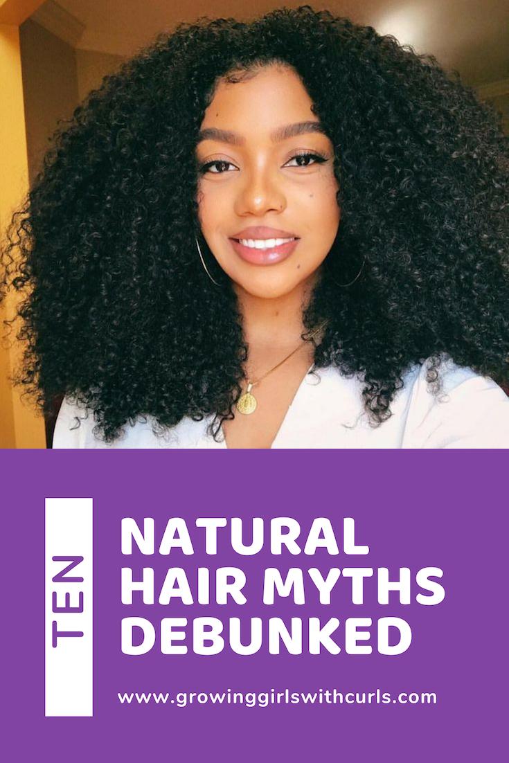 10 Natural Hair Myths Debunked