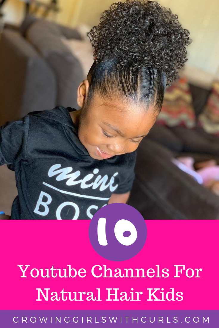 10 Youtube Channels that specialize in kids natural hair care