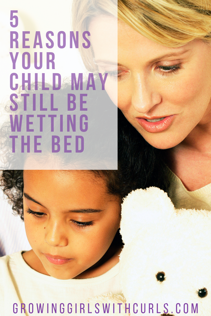 Reasons your child may be wetting the bed
