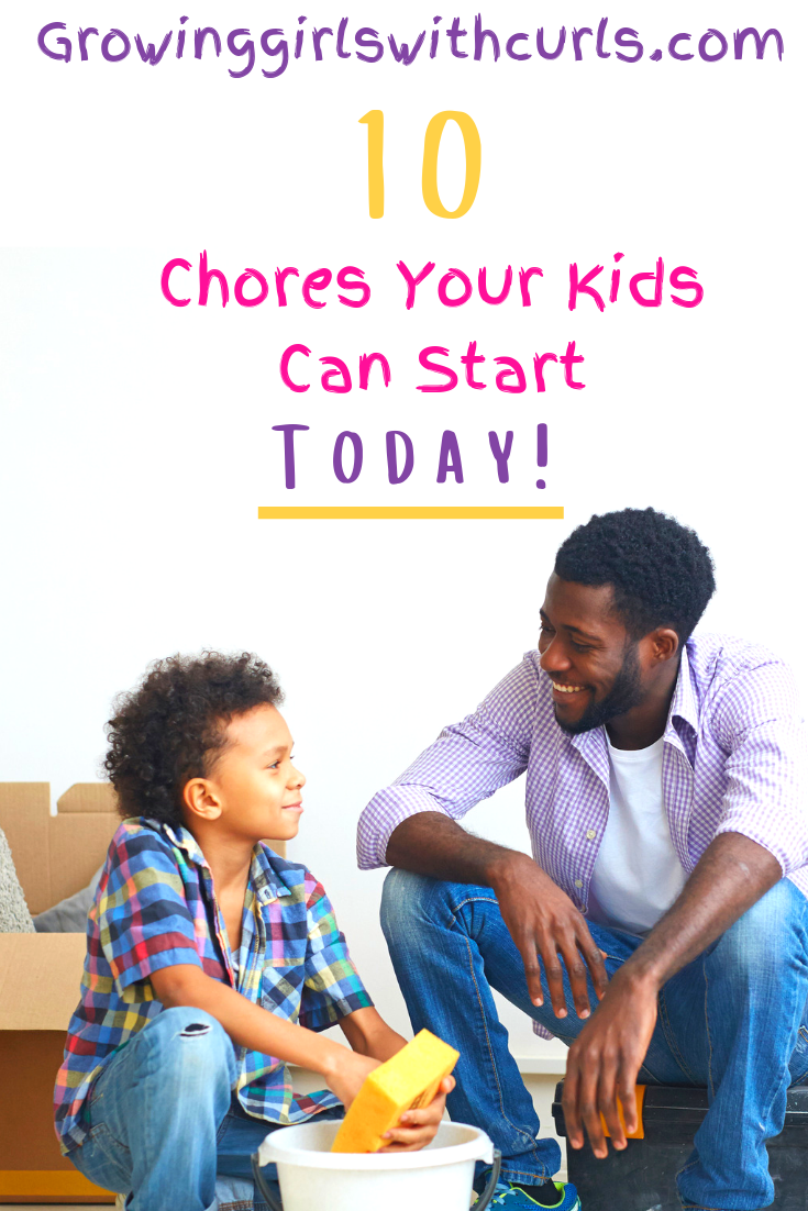 10 chores your kids can start today