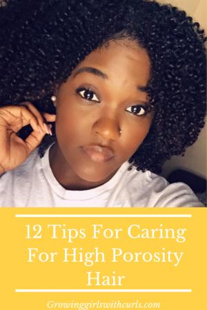12 tips for caring for high porosity hair