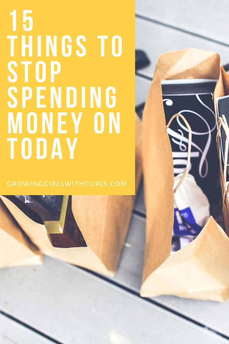 Things to stop spending money on now to start saving