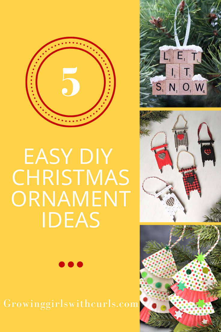 5 Easy DIY Christmas Ornament Ideas