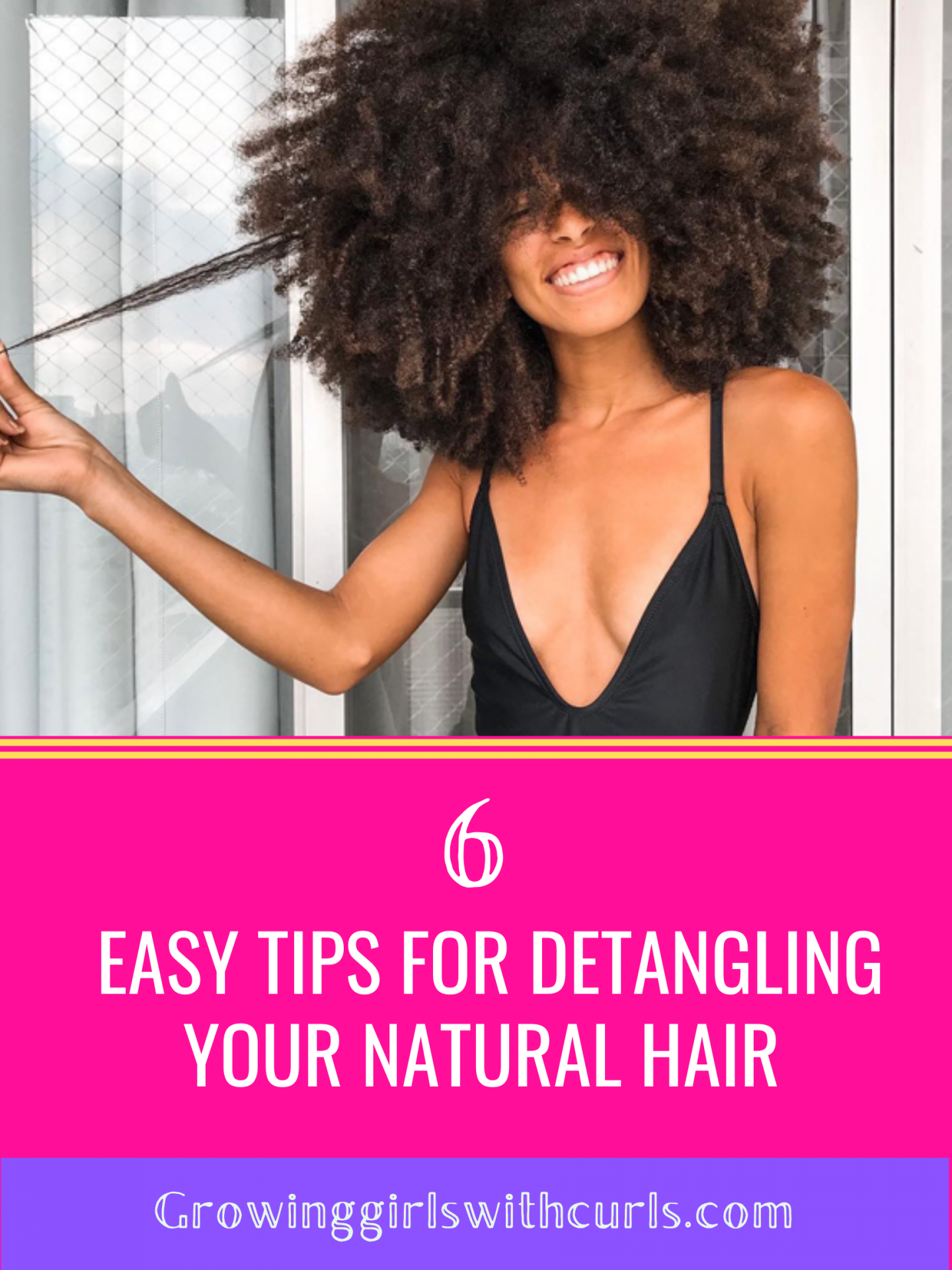 easy tips for detangling your natural hair